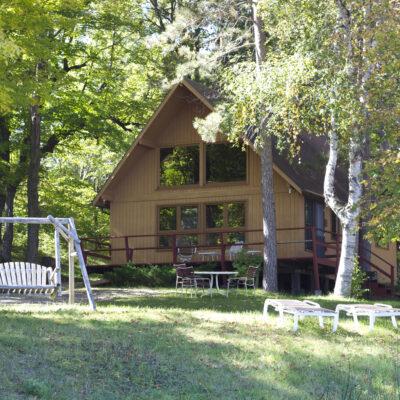 Cabin 3 exterior.