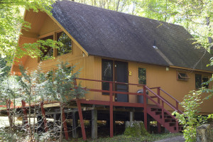 Exterior side shot of cabin 5